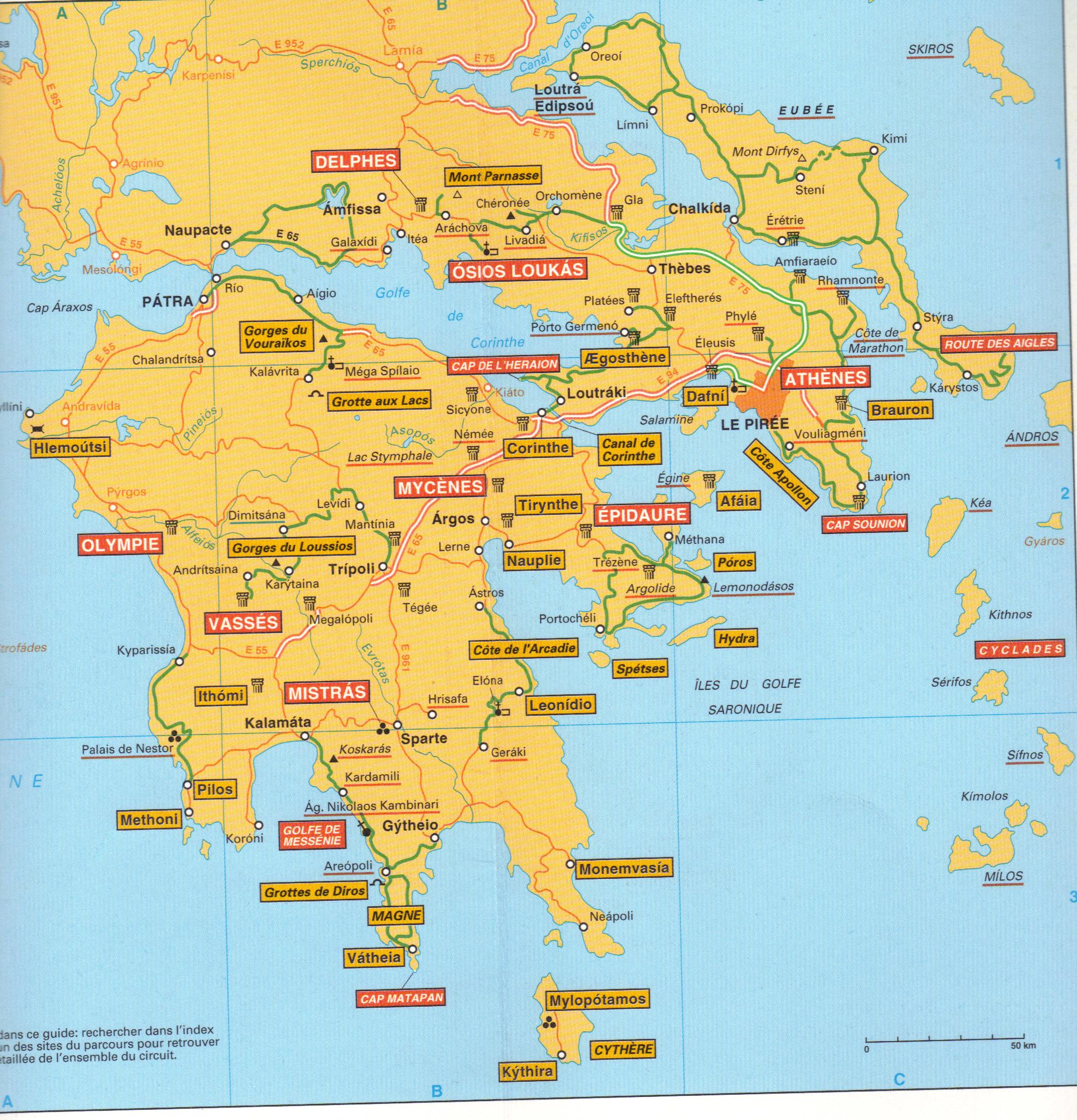 Carde Voyage en Grèce
