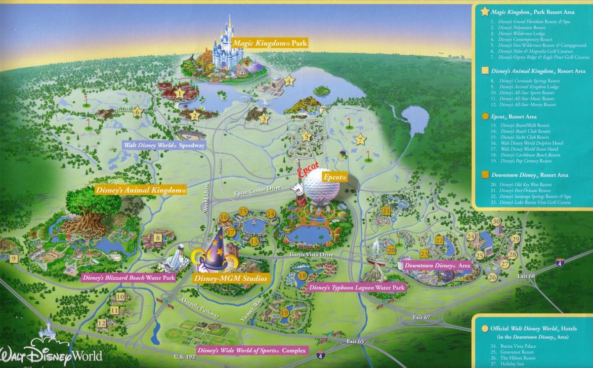 Mon voyage disney world orlando les parcs disney dans le monde go disneyland paris for Reservation hotel dans le monde
